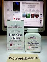21st Century Hair Skin Nails 90 табл, фото 1