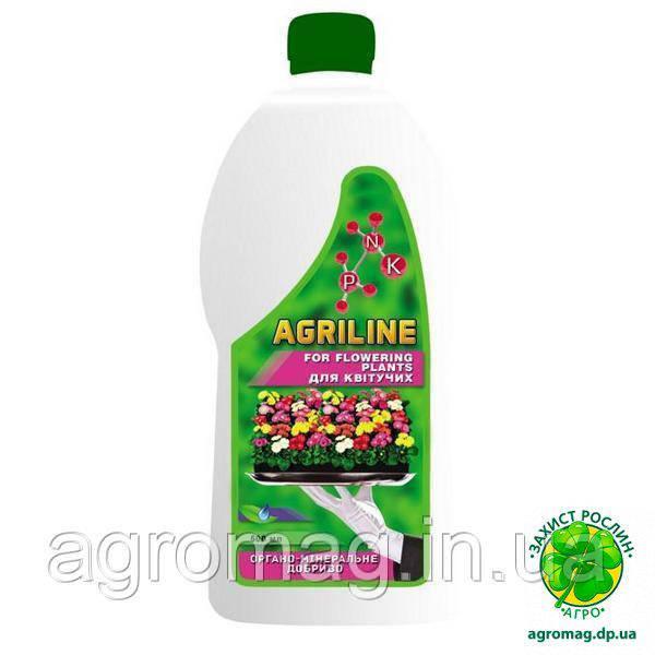 Удобрение Агрилайн для Цветущих 0,5л