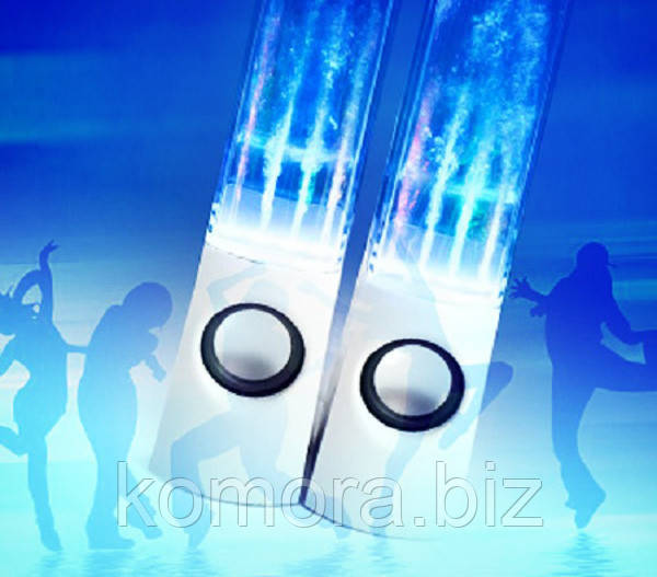 Колонки Танцующий Фонтан Water Dancing Белые