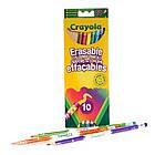 10 цветных карандашей Crayola с ластиками (3635). Оригинал, фото 2