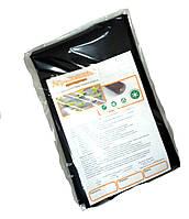 Агроволокно плотностью 50г/кв.м. 1,6м*5м черное, агроволокно в пакетах .