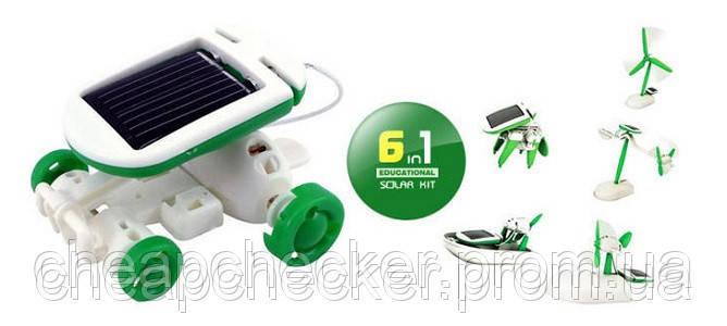 Конструктор Трансформер на Солнечной Батарее 6 в 1