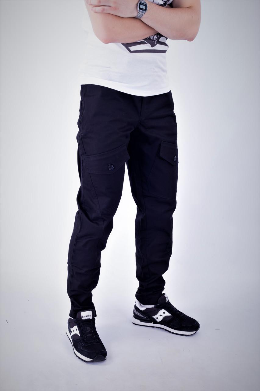 Мужские карго брюки черные ТУР Prometheus
