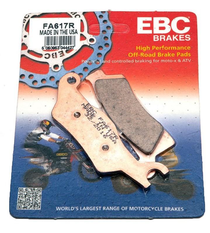 Тормозные колодки EBC FA617R