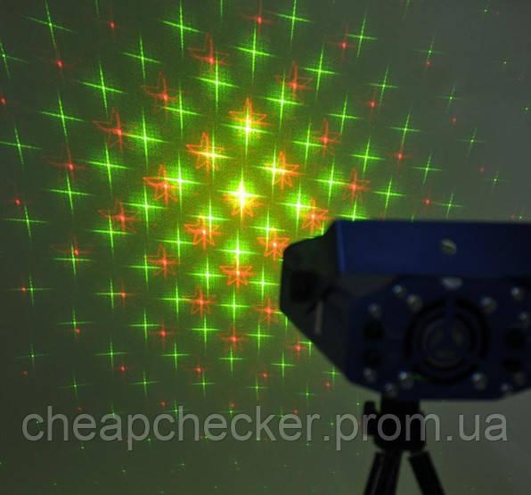 Лазерная Музыкальная Установка Проектор YX 039
