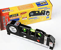 Лазерный Строительный Уровень Рулетка Линейка Метр Laser Level PRO3, фото 1