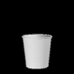Стакан бумажный Белый 110мл. 50шт/уп (1ящ/84уп/4200шт)