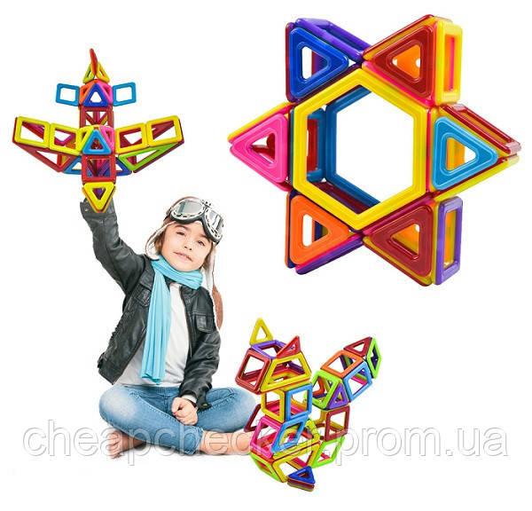 Магнітний Розвиваючий 3D Конструктор Магнітні Блоки 40 Деталей