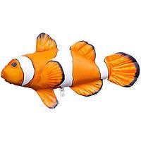 """Подушка-игрушка """"Рыба-клоун"""" / 32х16см"""