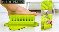Массажная Щетка для Ступней Ног Мочалка на Присоске Foot Brush, фото 1