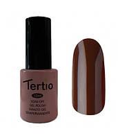 Гель-лак Tertio №48 темно-коричневый 10 мл