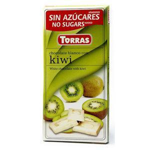 """Молочный шоколад c киви """"Torras"""", 75 г"""