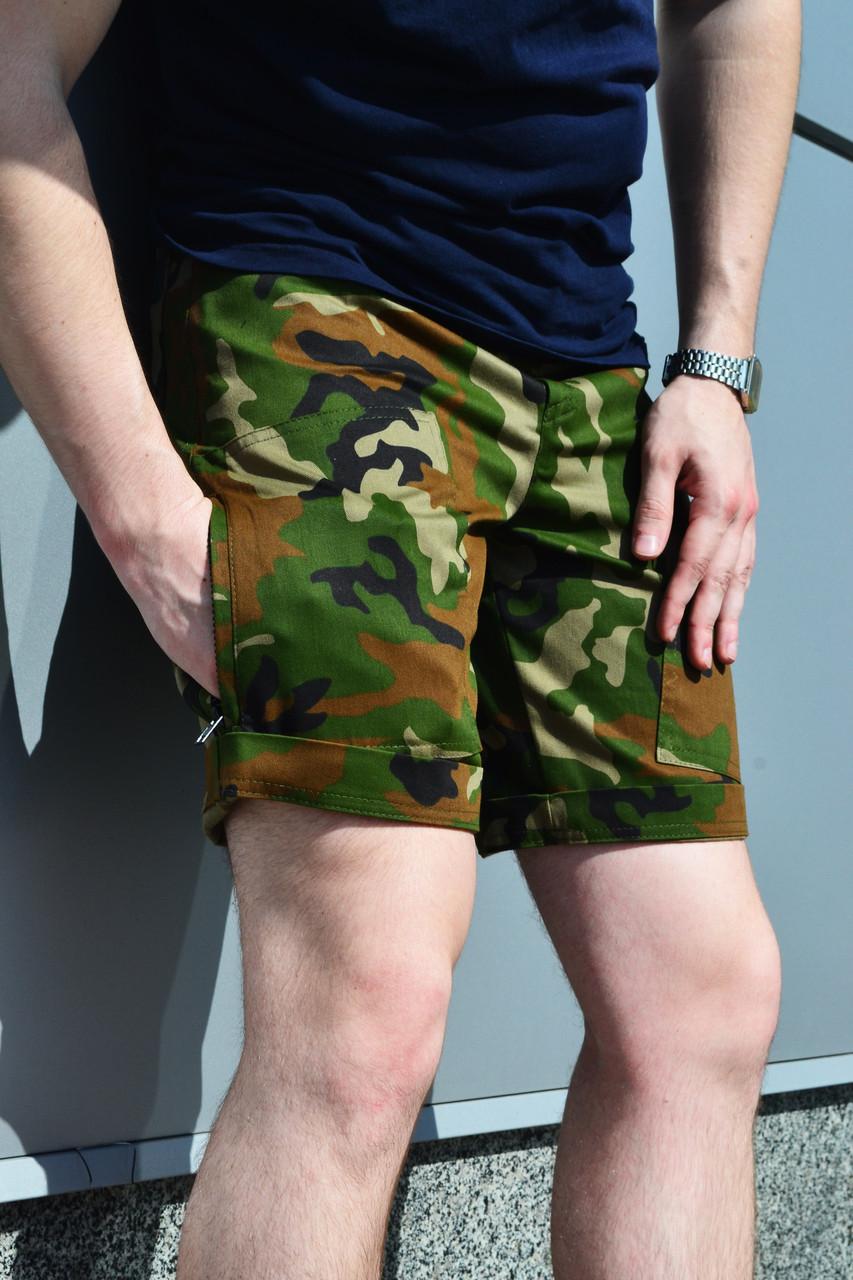 Шорты мужские камуфляжные ТУР Insider