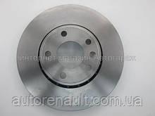 Тормозной диск передний на Рено Трафик 01> BREMBO (Италия) 09893710