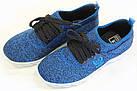 Кроссовки женские 06-42/A синие, фото 2