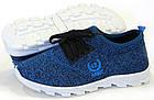 Кроссовки женские 06-42/A синие, фото 4