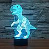 3D-лампа ночник с пультом Lumen Raptor, фото 2