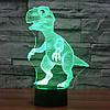3D-лампа ночник с пультом Lumen Raptor, фото 3