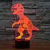 3D-лампа ночник с пультом Lumen Raptor, фото 5