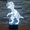3D-лампа ночник с пультом Lumen Raptor, фото 6