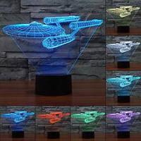 3D-лампа ночник с пультом Lumen Enterprise