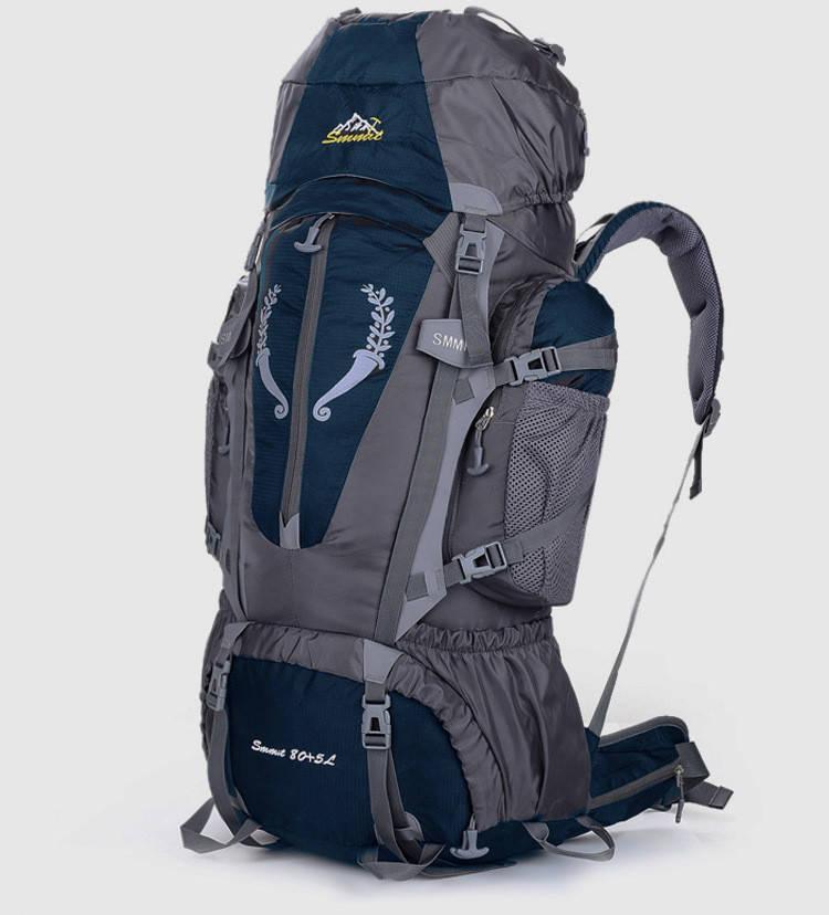 Рюкзак походный туристический Outland 80 L dark blue