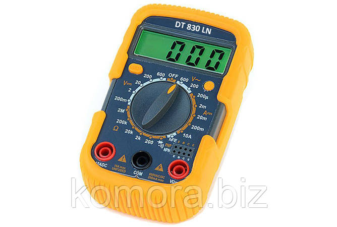 Мультиметр DT 830 LN
