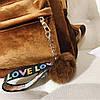 Рюкзак городской женский Plush bordo, фото 4