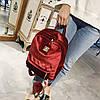 Рюкзак городской женский Plush bordo, фото 7