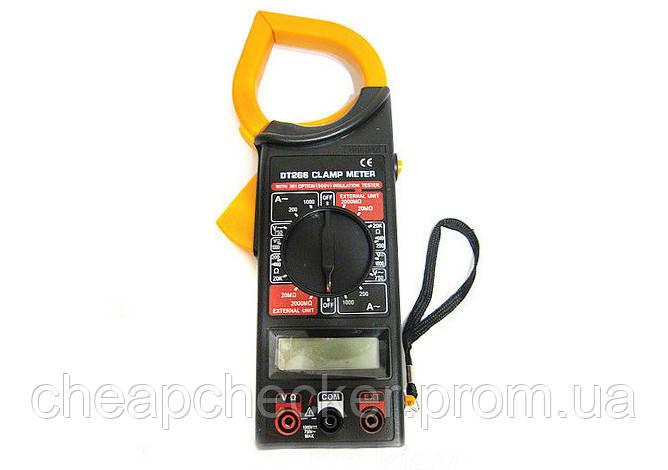 Мультиметр Тестер DT 266 С Токоизмерительные Клещи