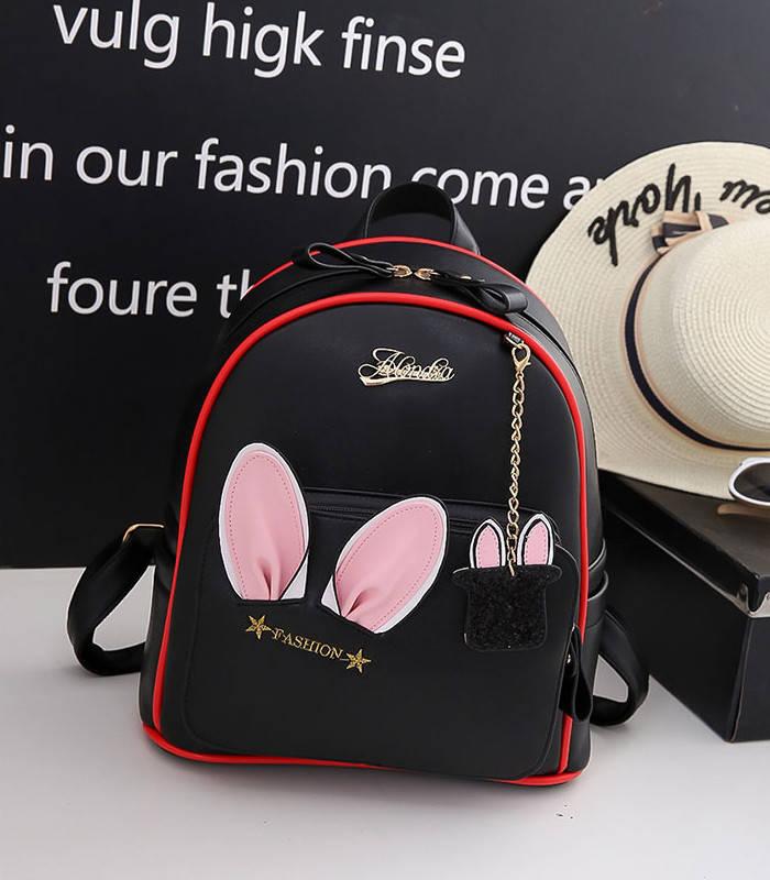 Рюкзак городской женский Rabbit black