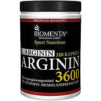 Biomenta L-Arginin 3600 mg 320 caps