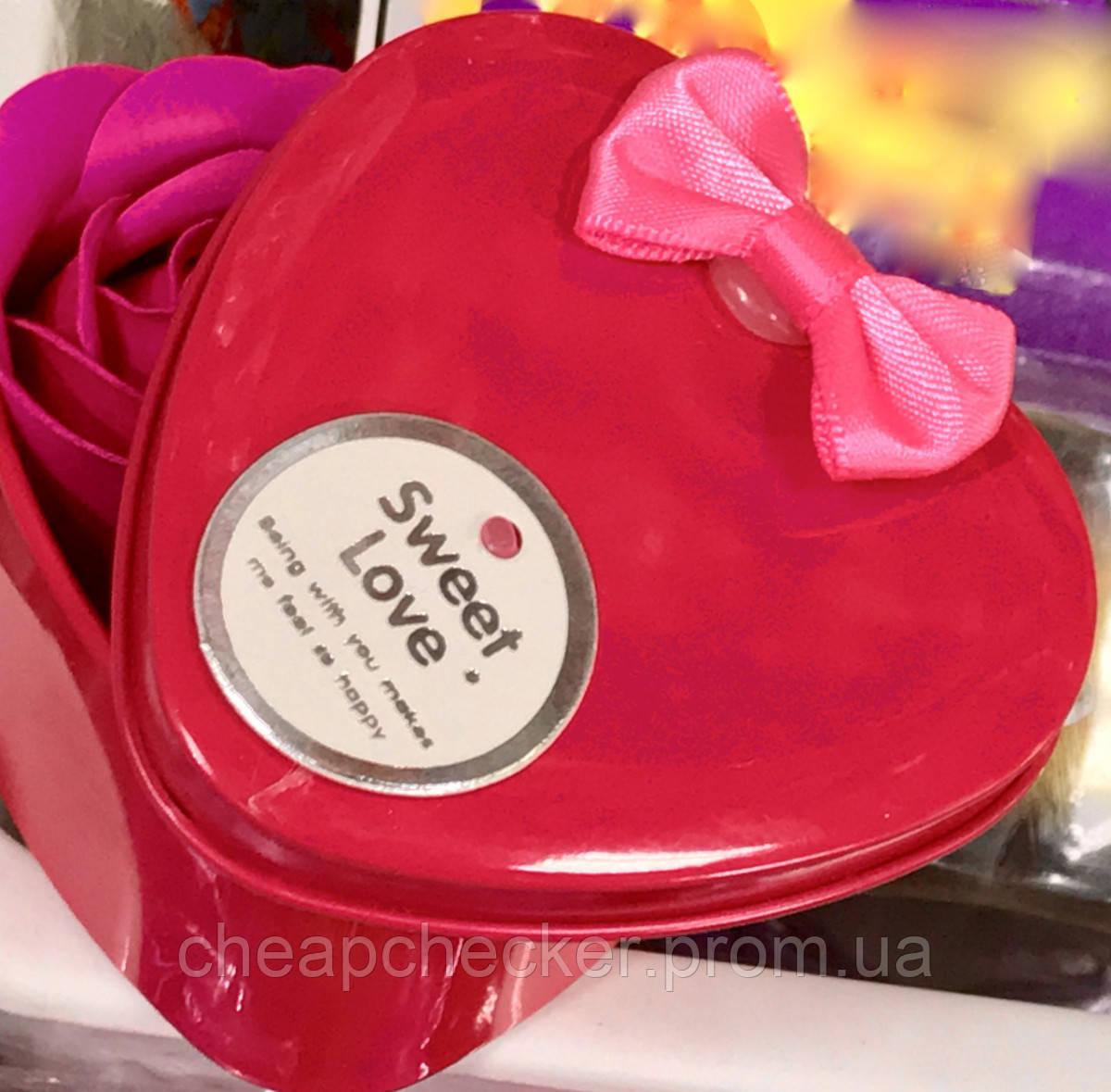 Мыло Роза для Ванной Лепестки Ароматические День Святого Валентина Любимой Сувенир Подарочная Упаковка