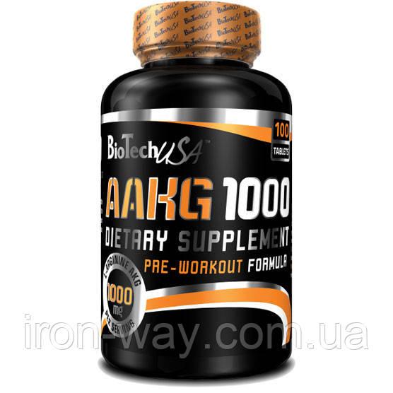 BioTech USA AAKG 1000 100 tab