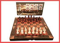 Набор 3 в 1 Шахматы Шашки Нарды WC 0015 L, фото 1
