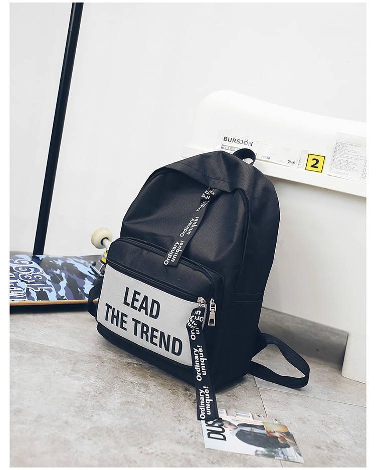 Рюкзак городской Trendtime black-gray