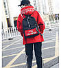 Рюкзак городской Trendtime black-red, фото 10