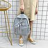 Рюкзак городской Shoelace gray