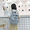 Рюкзак городской Shoelace gray, фото 4