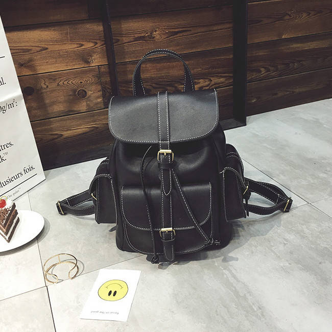 Рюкзак городской женский Simon black