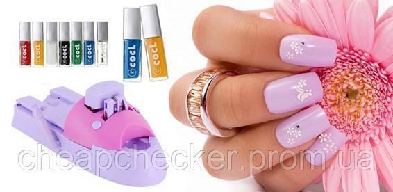 Набор для Стемпинга Дизайна Ногтей Diy Nail Magic