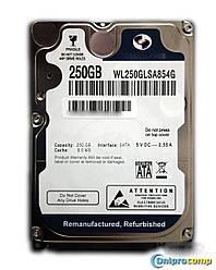 Жесткий диск 2.5 250GB 7200rpm