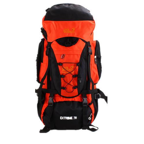 Рюкзак походный туристический 70 L Wolf terra orange