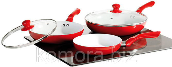 Набор Керамических Сковород Ceramic Pan 3 шт