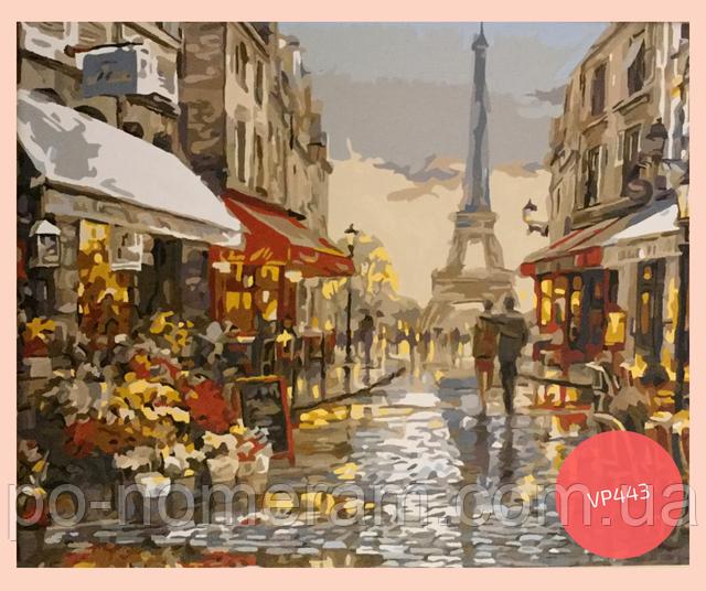 картина на холсте Париж