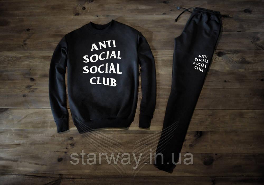 Трикотажний костюм Anti social social club logo   Стильний assc