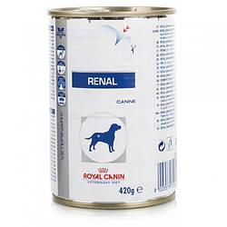 Royal Canin (Роял Канин) RENAL CANINE Cans корм для собак с хронической почечной недостаточностью, 410 г