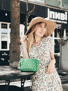 Кросс-боди Мелани зеленая
