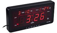 Настільні Електронні Годинники Led Clock 2158, фото 1