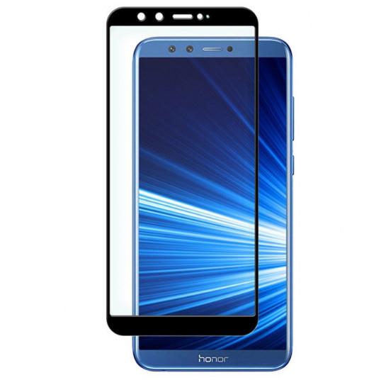 Full Glue захисне скло для Huawei Honor 9 Lite - Black